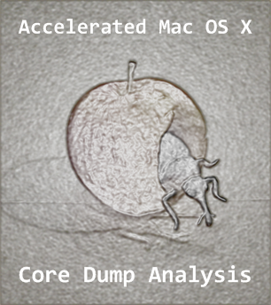 Accelerated Mac OS X Core Dump Analysis Logo