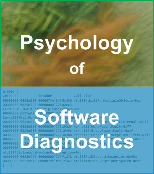 Introduction to Psychology of Software Diagnostics Logo