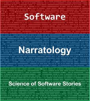 Introduction to Software Narratology: An Applied Science of Software Stories Logo